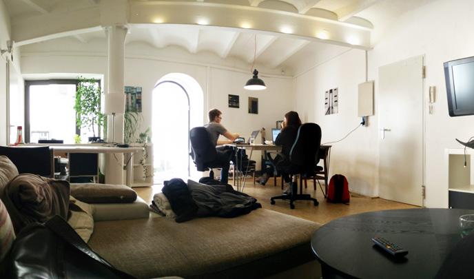 Einer von mehreren Räumen im Format Co