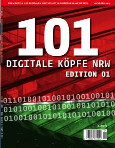 Leider nur auf Papier: 101 Digitale Köpfe NRW - Edition 1