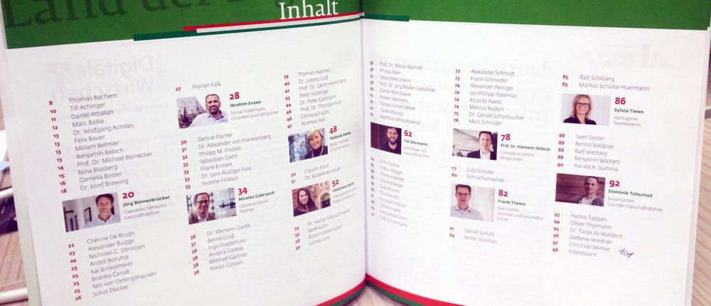 Alphabetisch ist nicht genug, eine inhaltliche Struktur würde das Magazin zu einem Nachschlagewerk für Themen machen.