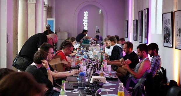 OpenData-Aktivisten auf der Interactive Cologne