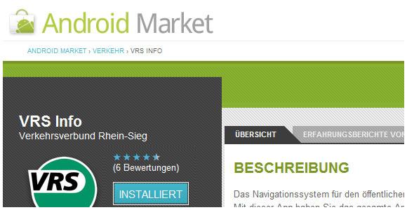 VRS Info VS DB Navigator